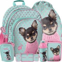 Plecak dla Dziewczyny z Pieskiem dla Dziewczynki [PQD-090]