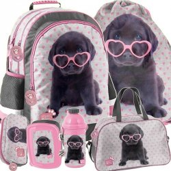 Plecak dla Dziewczyny do Szkoły Labrador Piesek [PTB-116]