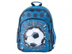 Plecak Szkolny Piłka Nożna dla Chłopaka z Piłką 17-090F