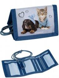 Portfel dla Dziecka Portfelik Kot Pies [RLB-002]