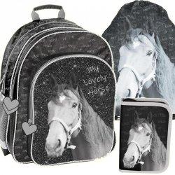 Plecak do Szkoły w Konie dla Dziewczynki Zestaw [PP19KO-090]
