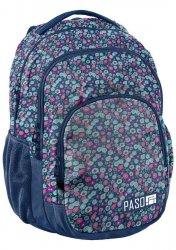 Plecak Młodzieżowy Kwiateczki Szkolny [18-2706KW]