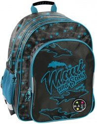 Plecak Maui&Sons Szkolny dla Chłopaka Niebieski [MAUM-090]
