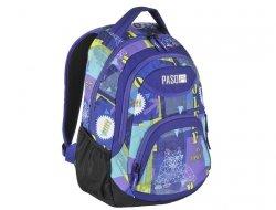 Plecak Młodzieżowy Szkolny dla Dziewczyn Fioletowy