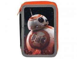 Piórnik Szkolny Star Wars dla Chłopaka 2 Komorowy STN-022