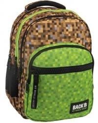 Plecak Minecraft Młodzieżowy BackUP Szkolny [PLB2M39]