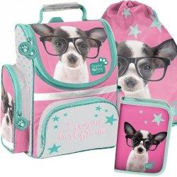 Szkolny Tornister w Pieski Psy dla Dziewczyny [PTD-525]