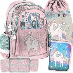 Plecak Szkolny Jednorożec dla Młodej Dziewczyny [PP19UK-081]