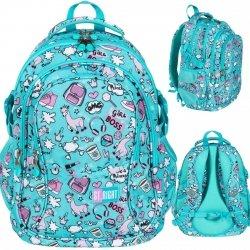 St.Right Lamy Plecak dla Dziewczyny Młodzieżowy PASTEL LAMAS [BP1]