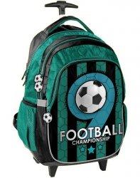 Szkolny Plecak na Kółkach Piłka Nożna Football dla Chłopaka [PP19F-997]