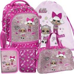 L.o.l. Surprise Szkolny Plecak Nowoczesny dla Dziewczynki [LOA-260]