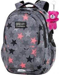 CP CoolPack Plecak dla Dziewczyny Szary z Gwiazdami Szkolny FANCY STARS [C02176]
