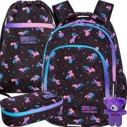 Nowy Coolpack Cp Młodzieżowy Plecak Jednorożec dla Uczennicy DARK UNICORN [C25230]