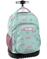 Plecak na Kółkach Flamingi Młodzieżowy Szkolny [PPLF19-1231]