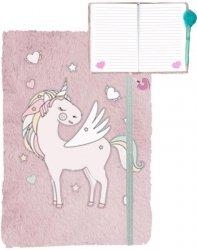 Jednorożec Pamiętnik Pluszowy Unicorns dla Dziewczynki [PP19UK-3673]