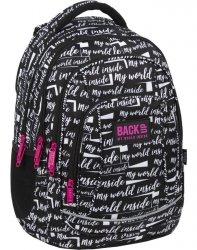 Napisy Plecak Młodzieżowy BackUP Szkolny dla Dziewczyny [PLB3A09]