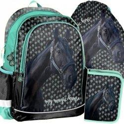 Plecak w Konie Szkolny dla Dziewczyny Zestaw Koń [PP19KN-081]