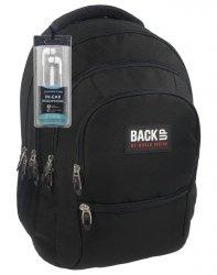 Czarny Plecak Młodzieżowy BackUP Szkolny [PLB1C27]
