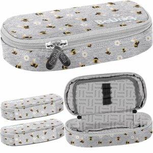 Pszczółki dla Dziewczynki Piórnik Szkolny Młodzieżowy BeUniq [PPEE20-013]