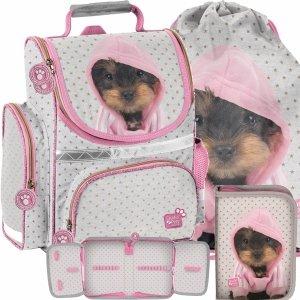 Tornister Pies York w Bluzie dla Dziewczyny Uczennicy Szkolny Paso [PTJ-525]