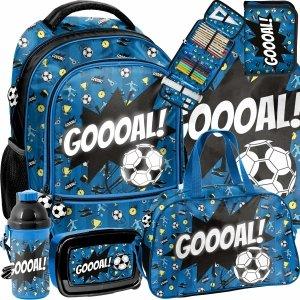 Piłkarski Plecak Szkolny Paso Piłka Nożna dla Chłopaka [PP21FT-260]
