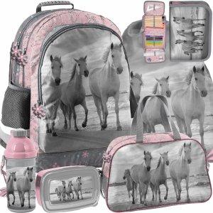 Plecak w Konie dla Dziewczyny Paso koń Komplet 6w1 [PP21HO-116]
