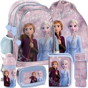 Modny Szkolny Plecak Kraina Lodu dla Dziewczyny [DOE-081]