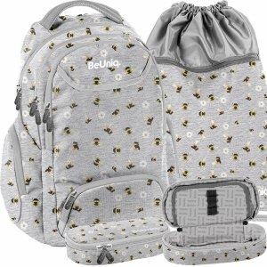 Plecak Kwiatki i Pszczoły Młodzieżowy Szkolny dla Dziewczynek [PPEE20-2908/16]