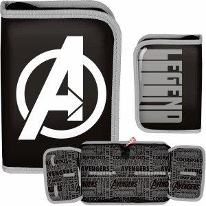 Avengers Piórnik dla Chłopaka Szkolny Paso [AMAL-001/BW]
