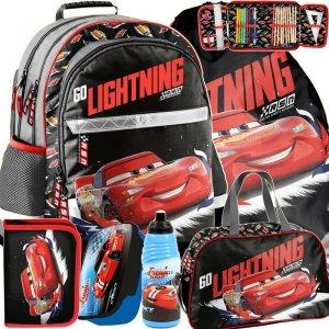 Szkolny Plecak Cars Zygzak Auta dla Chłopaków [DSB-116]