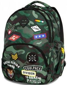 CoolPack CP Plecak MORO Młodzieżowy Naszywki [A16110]