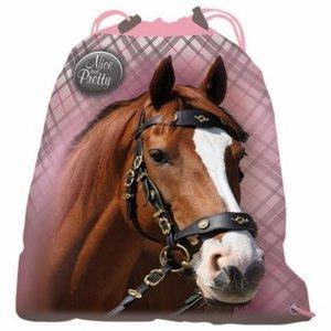 Worek Koń w Konie na Buty Kapcie dla Dziewczyny [607770]