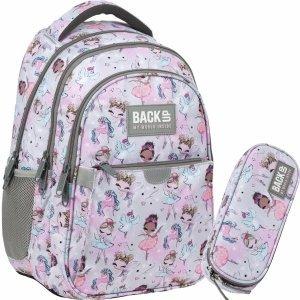 Młodzieżowy Szkolny Plecak Baletnica BackUP dla Dziewczyny Wróżki [PLB3P21]
