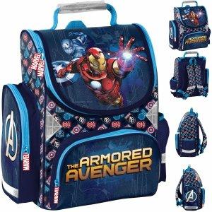 Iron Man Szkolny Tornister dla Chłopaków Avengers [AIN-525]