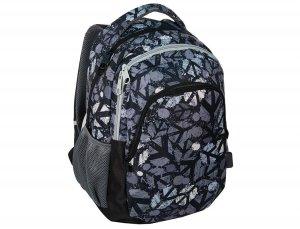 Plecak Młodzieżowy Szkolny w Pacyfki Szary Czarny 15-699C