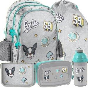 Plecak Dziewczęcy Barbie do Szkoły Zestaw [BAR-081]