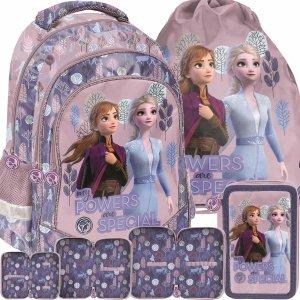 Plecak Frozen Kraina Lodu 2 Szkolny dla Dziewczyny Różowy [DOG-181]