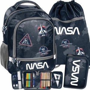 Plecak dla Chłopaka Nasa Szkolny Kosmiczny do Szkoły Podstawowej [PP21NA-260]