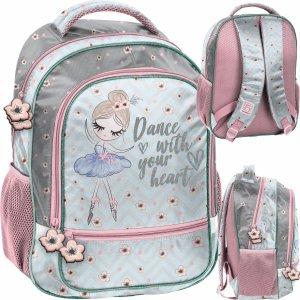 Plecak Szkolny dla Dziewczynki Baletnica Tancerka do 1 klasy [PP21BL-260]