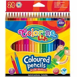 Kredki Heksagolalne Colorino 24 Kolory Ołówkowe [14700PTR/1]