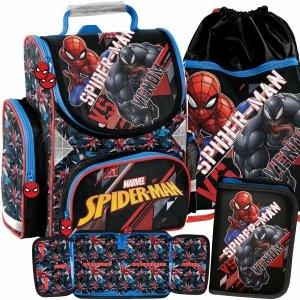 Tornister Venom do Szkoły dla Chłopaków Paso Spiderman [SPX-525]