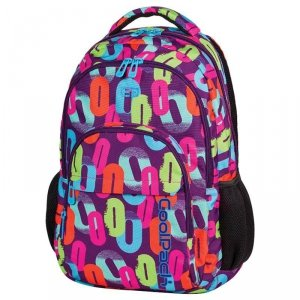 Plecak CP CoolPack Szkolny Młodzieżowy w Kolorowe Zera 61629CP
