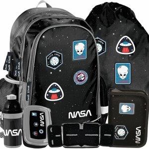 Naszywki Plecak Chłopięcy do Szkoły Kosmici Nasa do 1 Klasy [PP20NS-081]