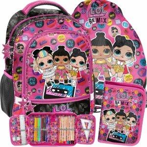 Zestaw Lol Surprise Plecak Szkolny dla Uczennic do 1 klasy [LOC-260]
