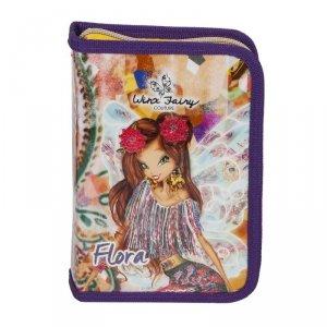 Piórnik Winx Fairy z Wyposażeniem Rozkładany do Szkoły [WXC-001]
