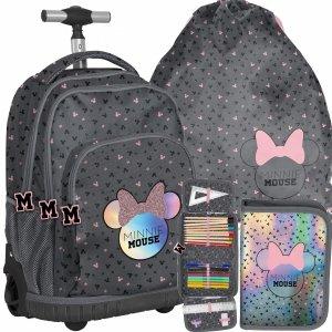 Plecak Szkolny na Kółkach Myszka Minnie dla Dziewczyny [DMNA-671]