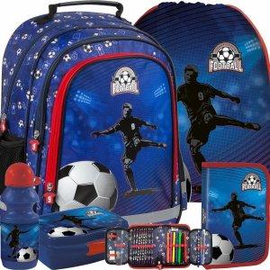 Piłka Nożna Plecak dla Chłopaka do Szkoły Podstawowej [PL15BPI15]