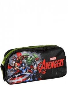 Avengers Piórnik Iron Man dla Chłopaka Saszetka Szkolny Paso [AVH-004]
