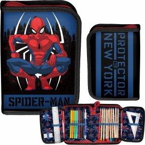 Spiderman Piórnik z Wyposażeniem dla Chłopaków [SPY-001]