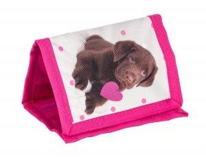 Portfel z Pieskiem Dziecięcy Portfelik dla Dziewczynki RHP-002